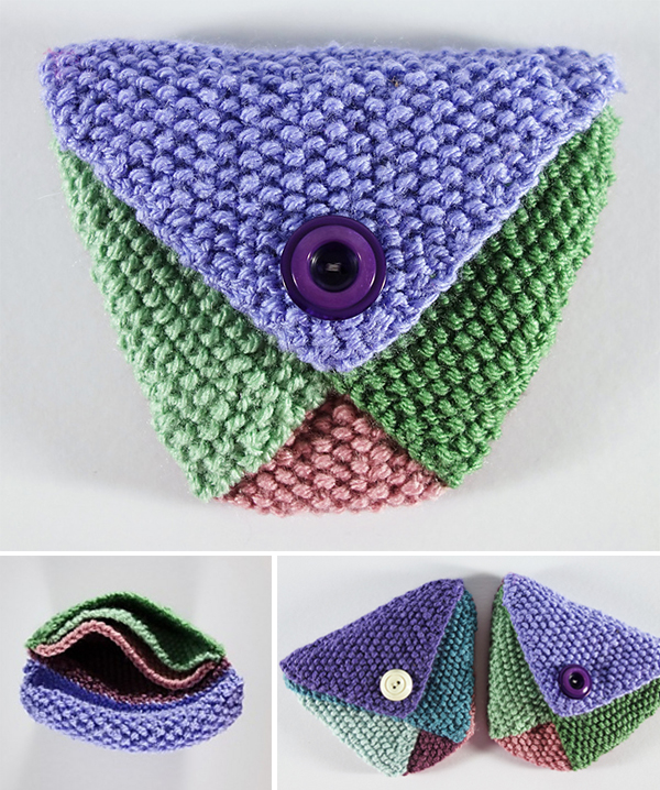 picture relating to Dice Bag Printable Pattern known as Bitty Luggage Knitting Models- In just the Loop Knitting