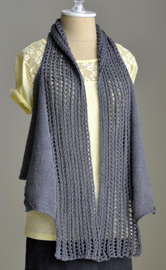 Free Knitting Pattern for Pathways Vest