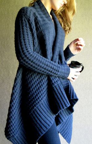 Knitting Pattern for Patti Ann Cardigan