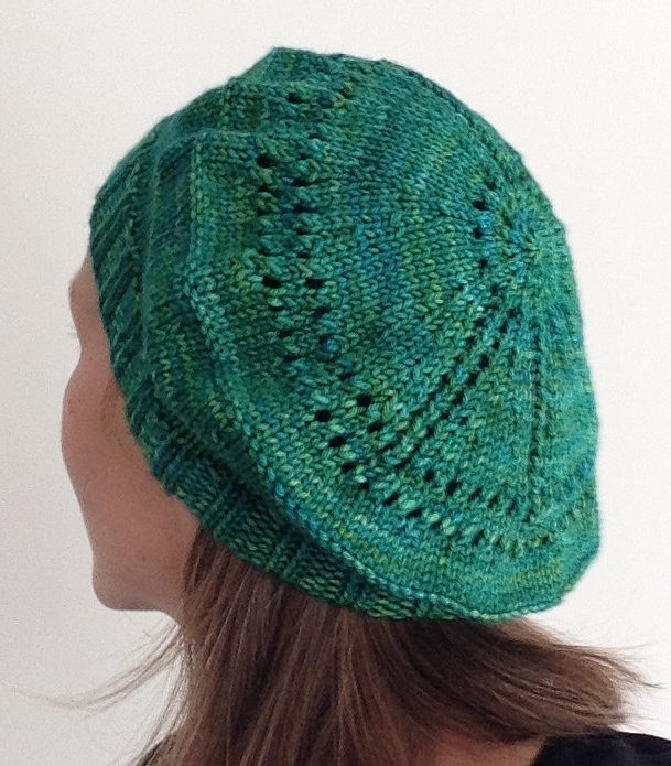 Free Knitting Pattern for Peace Beret