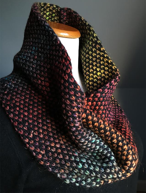 Free Knitting Pattern for Pembroke Street Cowl