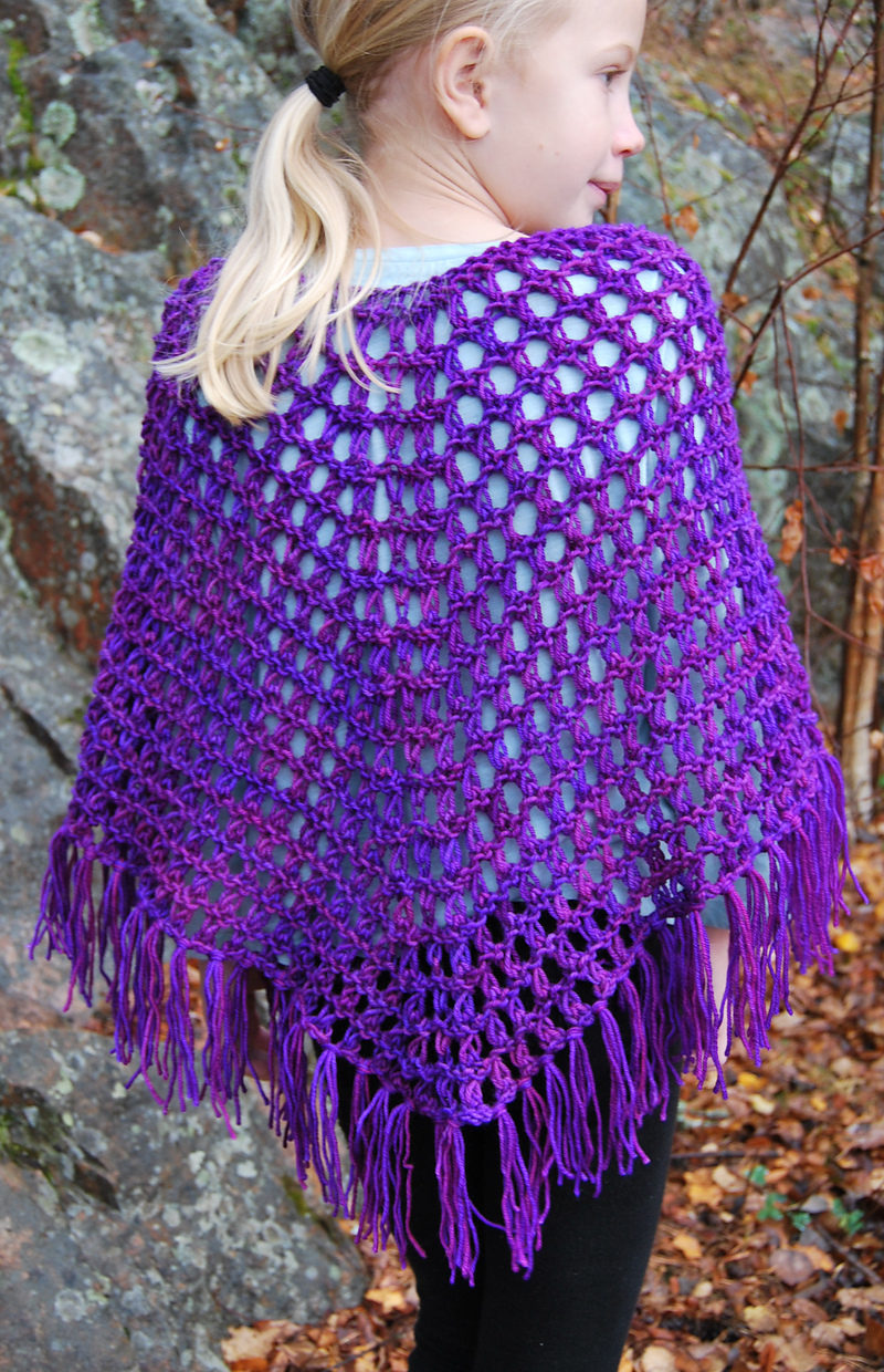 Free Knitting Pattern for Perfect Poncho