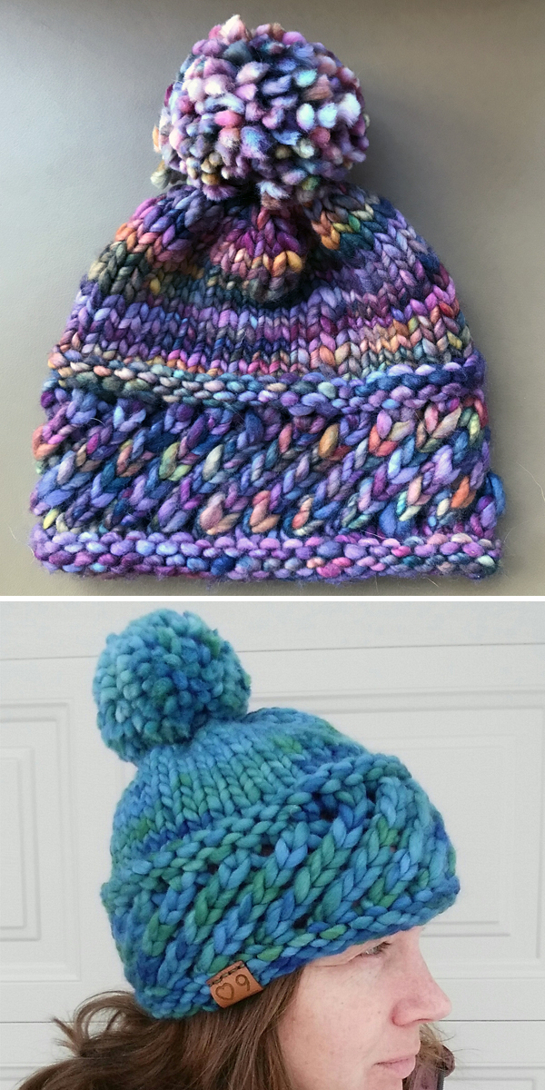 Super Bulky Yarn Knitting Patterns - In the Loop Knitting