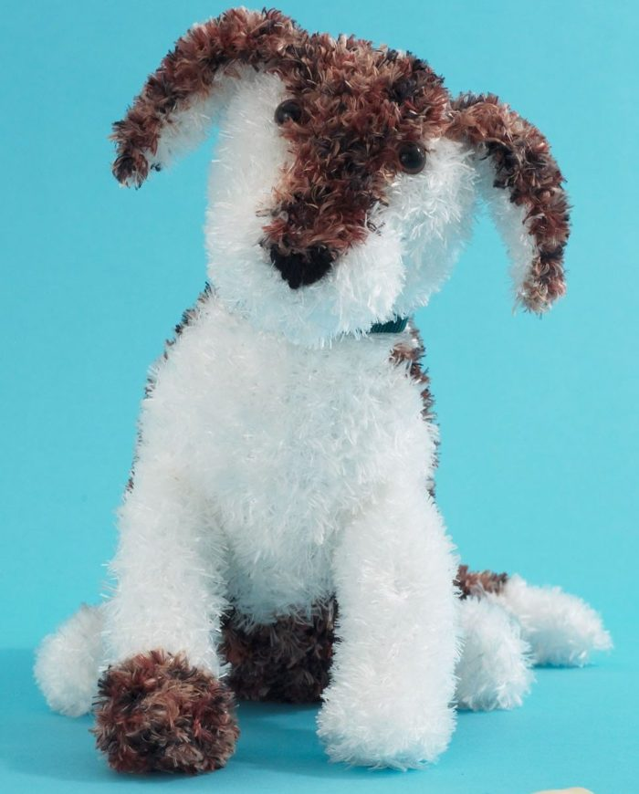 Free Knitting Pattern for Petey the Puppy