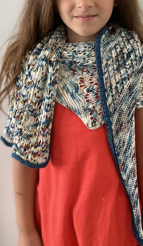 Free until September 1, 2020 Knitting Pattern for Lace Shawl