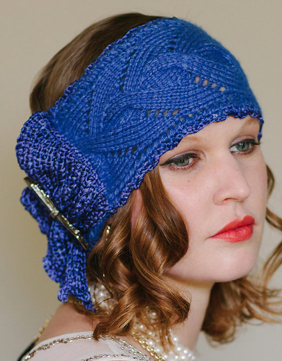 Knitting Pattern for Phryne Headwrap