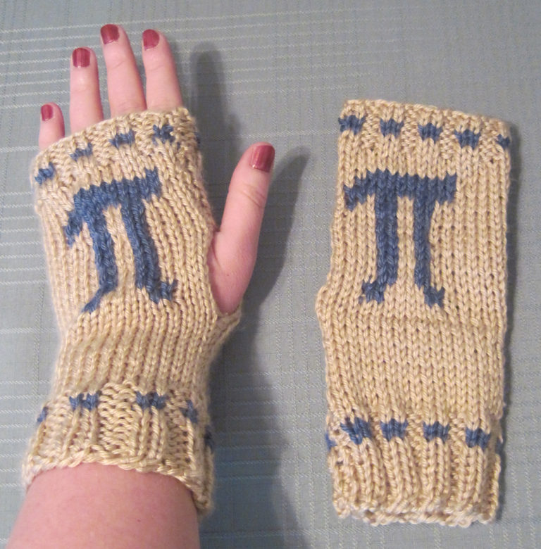 Free Knitting Pattern for Pi Mitts