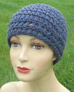 Free knitting pattern for Ridged Rib hat and more beanie knitting patterns