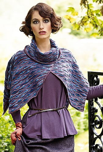 Pierneef Mini Poncho Free Knitting Pattern and more free poncho knitting patterns