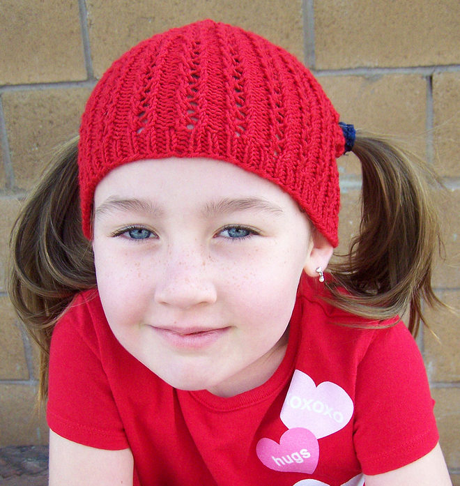 Free Knitting for Piggle Pigtail Hat