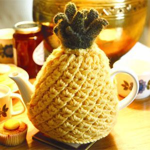 Pineapple Teapot Cosy Free Knitting Pattern and more cosy knitting patterns
