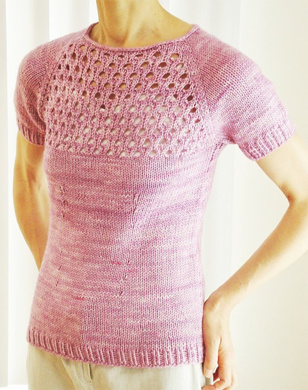 Free Knitting Pattern for Onyx Top
