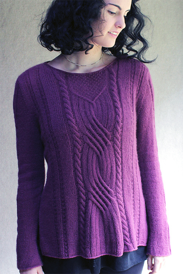 Knitting Pattern for Piper Sweater