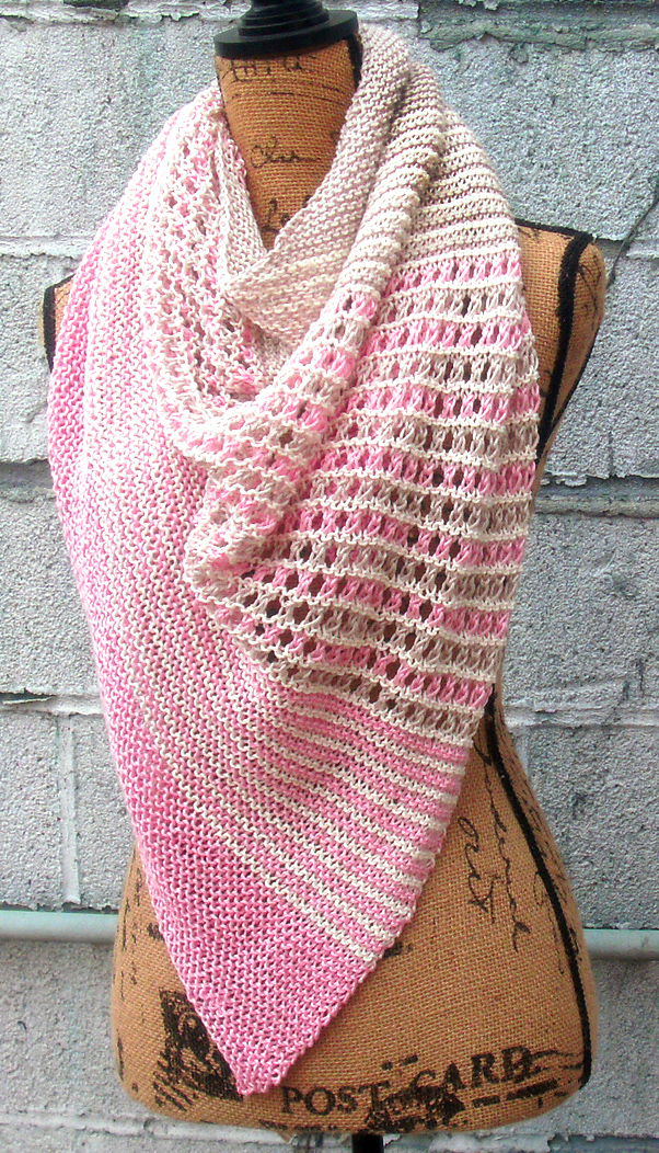 Free Knitting Pattern for Pirate Cove Shawl