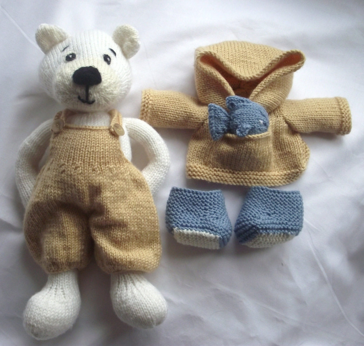 Knitting Pattern for Polar Pete