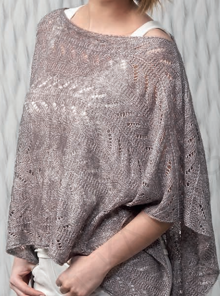 Free Knitting Pattern for Katia Poncho