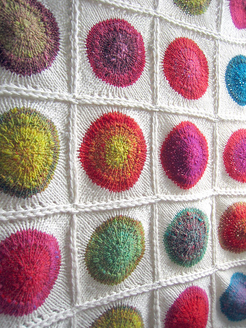 Knitting Pattern for POP Blanket