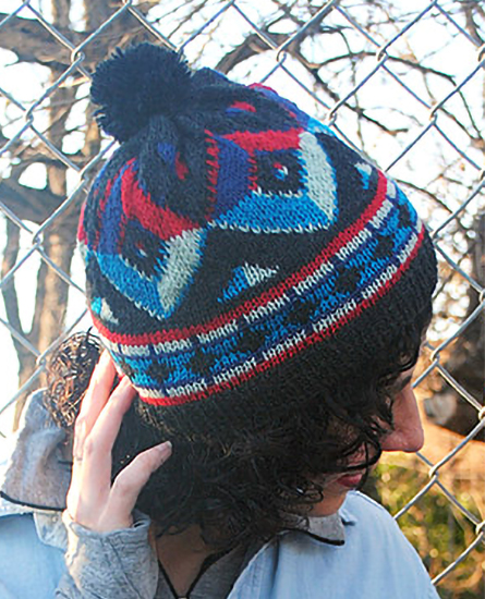 Free Knitting Pattern for Popper's Hat