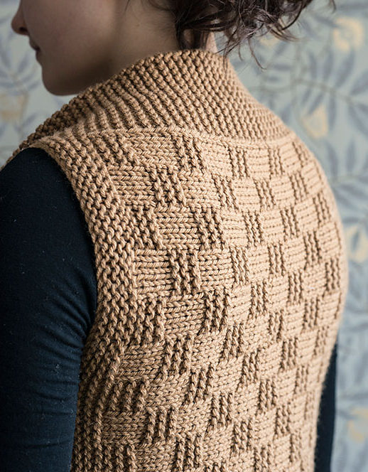93d5f2b306a054 Vest Knitting Patterns- In the Loop Knitting