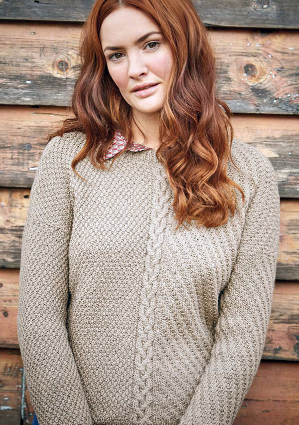 Free Knitting Pattern for Portico Sweater