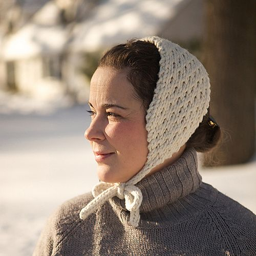 Free knitting pattern for Retro Skating hat headband and more headband knitting patterns