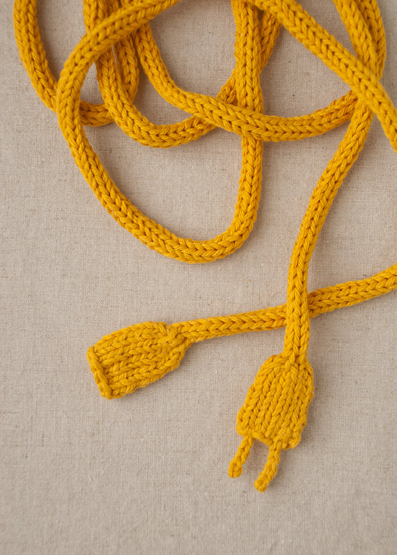 Power Cord Knitting Pattern