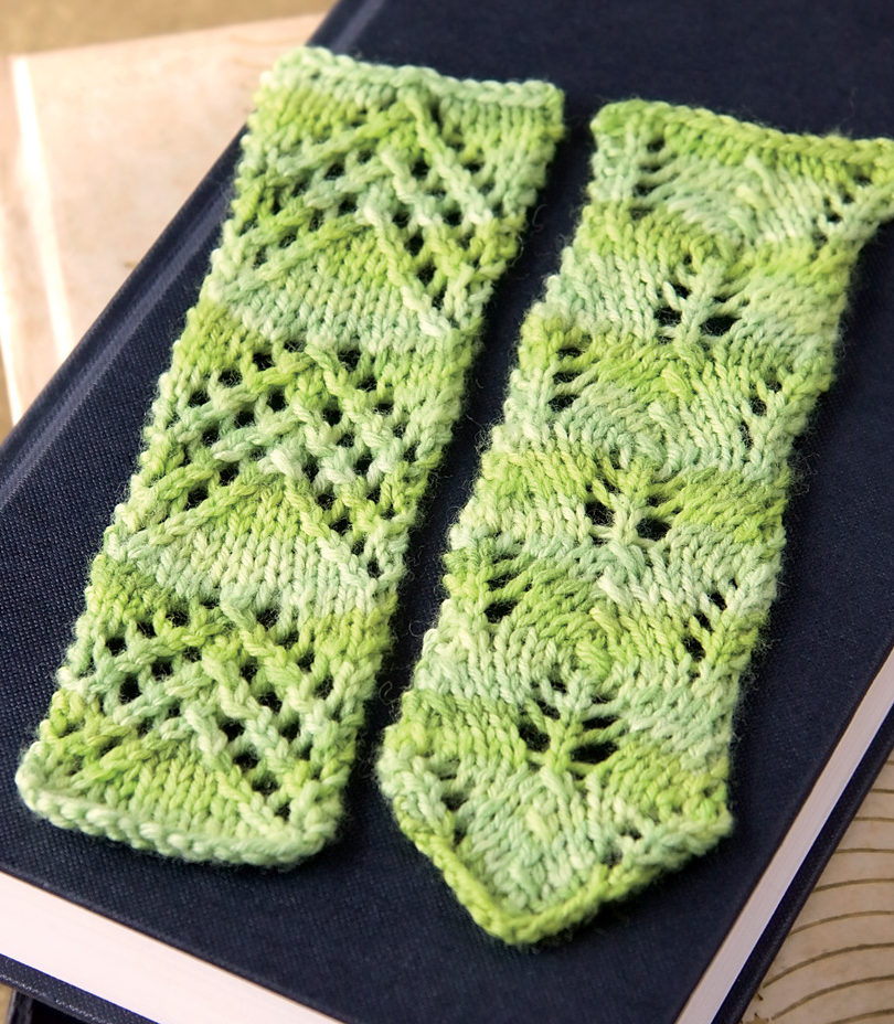 Knitting Pattern for Lace Bookmarks