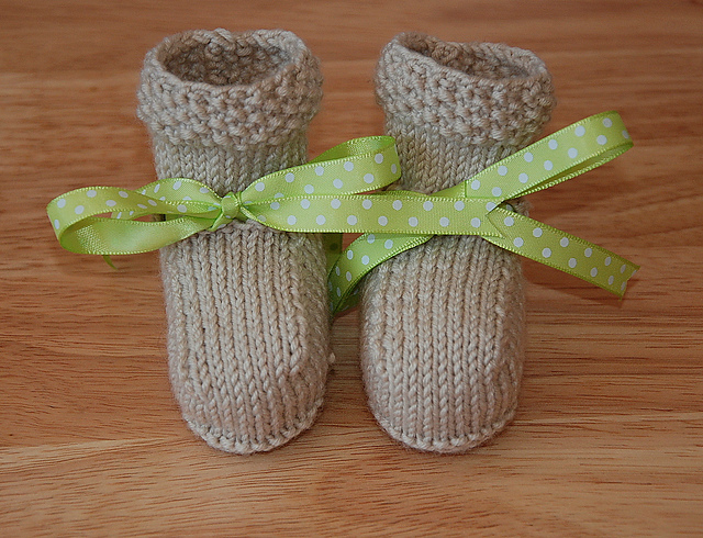Baby Booties Knitting Patterns In The Loop Knitting Custom Free Baby Booties Knitting Pattern