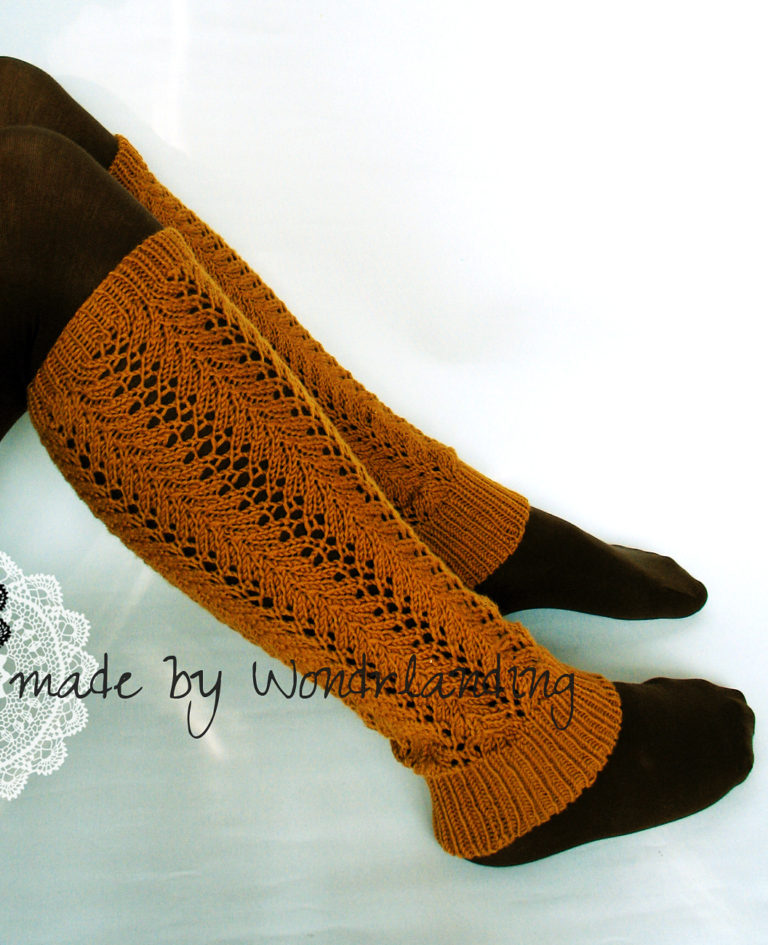 Free Knitting Pattern for Prima Legwarmers