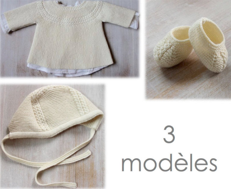 Knitting Pattern for Princess Charlotte Baby Layette Set