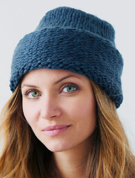 Free Knitting Pattern for Priyome Hat