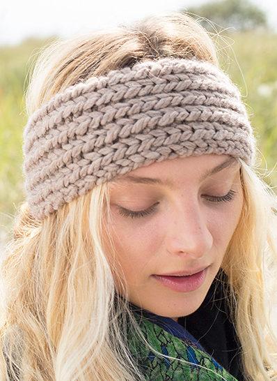 Earwarmer Headband Knitting Patterns - In the Loop Knitting