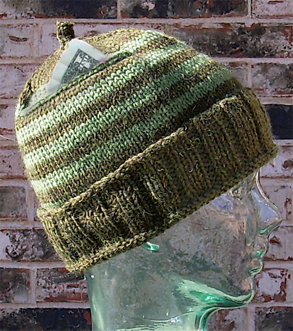 Free Knitting Pattern for Promethean Pocket Hat