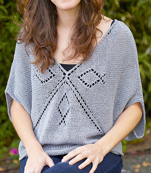 Free Knitting Pattern for Quadrant Top