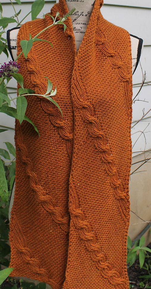 Knitting Pattern for Reversible Quixote Scarf