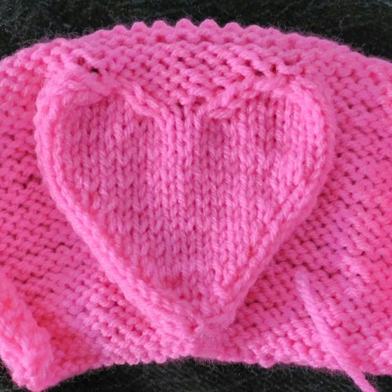 Heart Knitting Patterns In The Loop Knitting Inspiration Knitted Heart Pattern