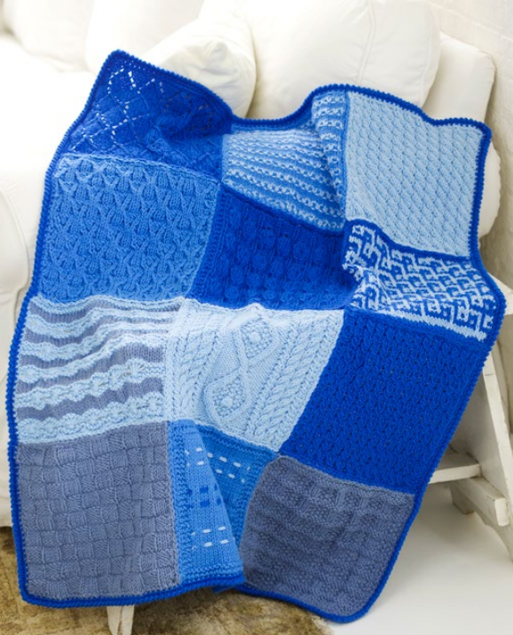 Sampler Knitting Patterns For Afghans Accessories And More In