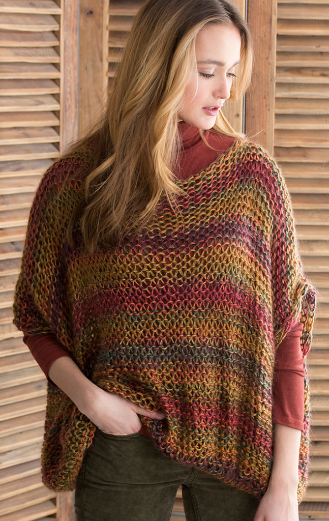 Free Knitting Pattern for Relaxed Pullover