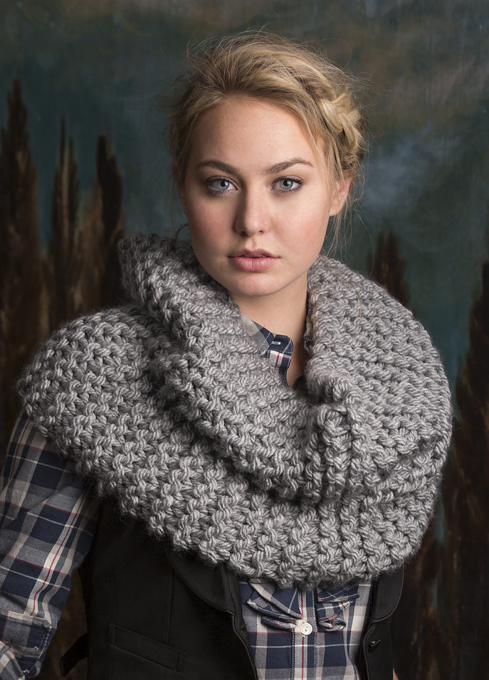 Free Knitting Pattern for Rendezvous Cowl
