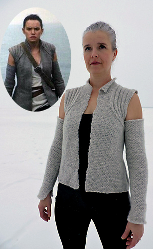 Free Knitting Pattern for Rey Vest