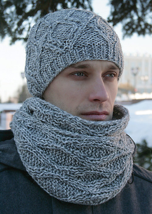 Hat Scarf And Mitt Sets Knitting Patterns In The Loop Knitting