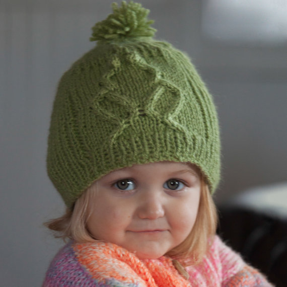 Knitting pattern for Rib-It Frog Hat and more wild animal knitting patterns
