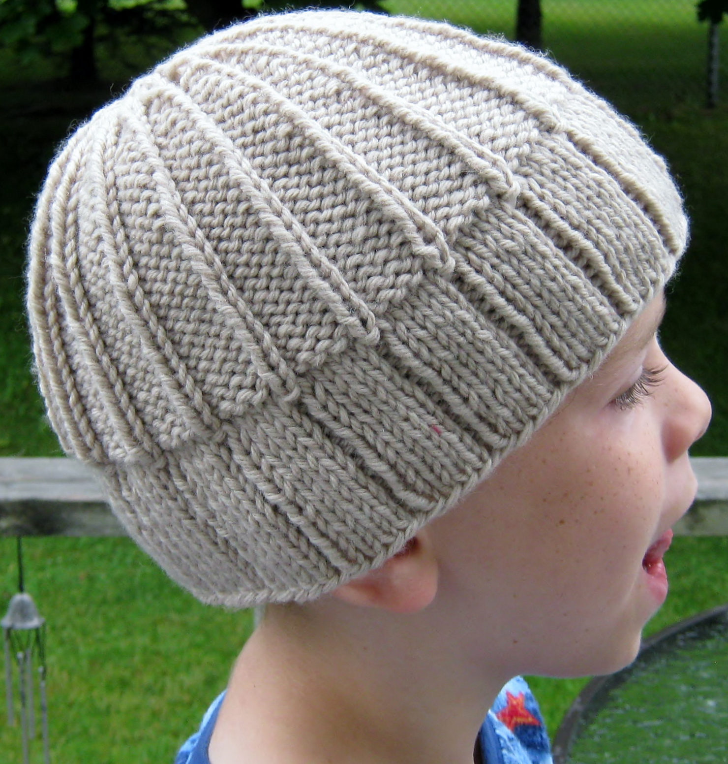 Knitting Pattern for Easy Ribby Toque