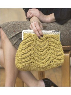 Ripple Purse Knitting Pattern Free Knitting Patterns for Bags, Purses, and Totes at http://intheloopknitting.com/bag-purse-and-tote-free-knitting-patterns/