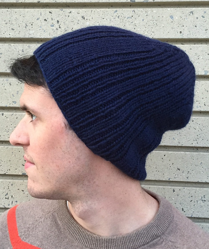 Knitting Pattern for Rist Canyon Slouchy Beanie