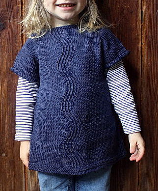 Free Knitting Pattern for River Dress