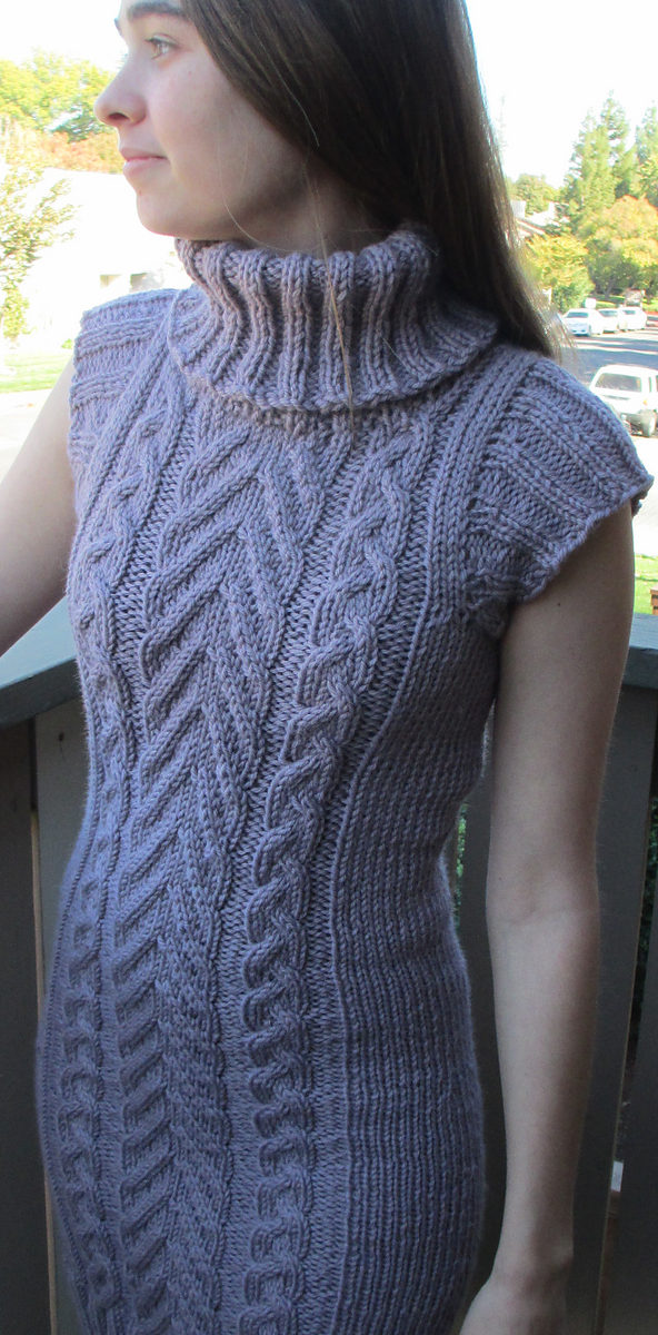 Knitting Pattern for Roam Tunic
