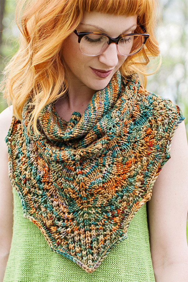 Knitting Pattern for Rochambeau Cowlette