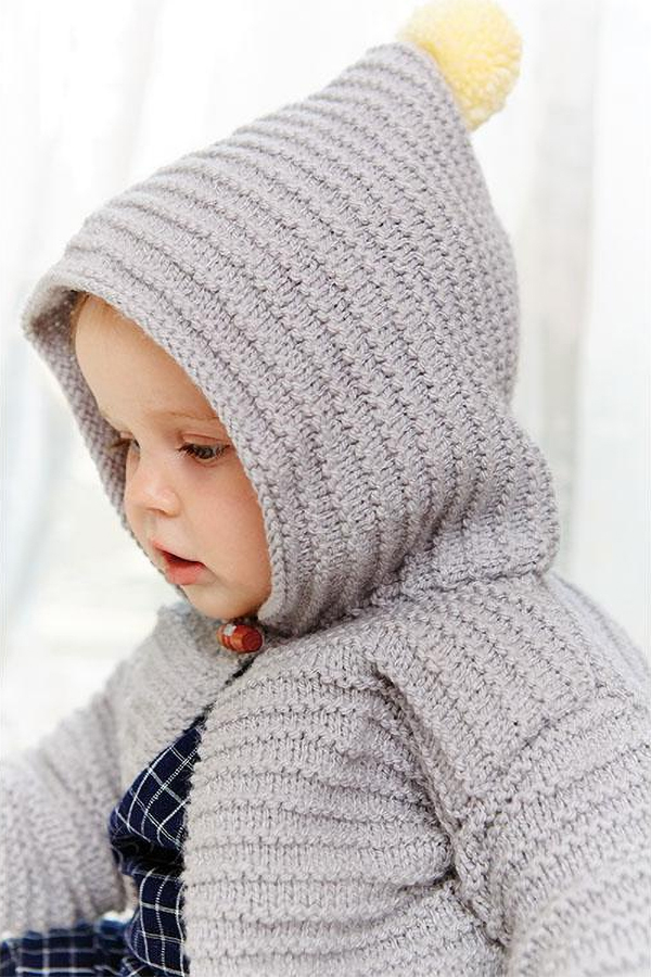 885db36b0 Little One Hoodie Knitting Patterns - In the Loop Knitting