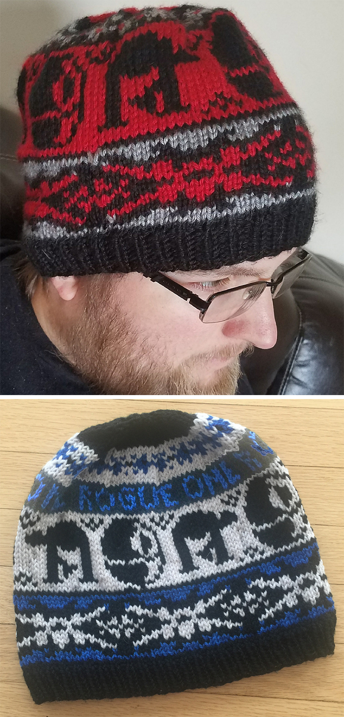 Free Knitting Pattern for Rogue One Hat